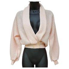 1950s - 1960s Sweater Shrug Italy Small - Medium