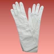 Kid Leather Gloves Unworn Small - Medium