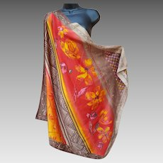 Your Luxury Scarf or Shawl Vivid Colors