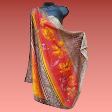Your Luxury Scarf for Fall Shawl Size Autumn Colors