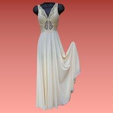 Olga BodySilk Nightgown Size Small Full Sweep