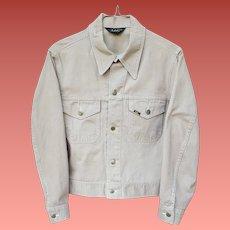 Vintage Lee Jean Jacket 1960s Medium Mint
