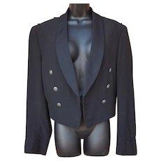 USAF Black Officer's Dress Jacket 41 R Unisex