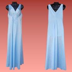 Blue Nightgown Vanity Fair Unworn Medium NOWT