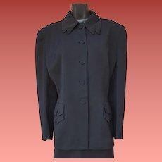 1940s Women's Gabardine Suit Size Large - Extra Large