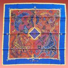 Hermes Silk Scarf Legende Kuna De Peuple Panama Zoe Pauwels