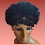 Women's Faux Fur Hat Winter Winner Size Large