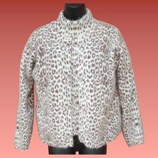 Two Piece Angora Sweater Set Super Fluffy Warm