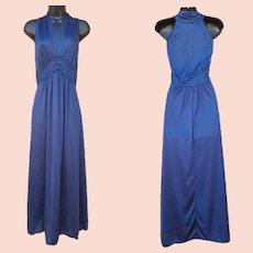 Vintage Nightgown Halter Style Mint NOS Size Medium