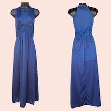 Vintage Nightgown Halter Style NOS Size Medium