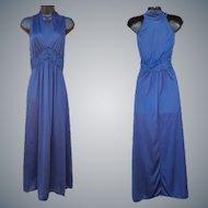 Vintage Nightgown Mint Halter Style NOS Size Medium