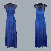 Vintage Nightgown Unworn Floor Length Medium