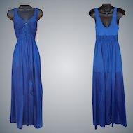 Vintage Nightgown Unworn Floor Length Medium