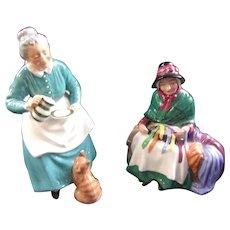 2 Wonderful Royal Doulton Figures