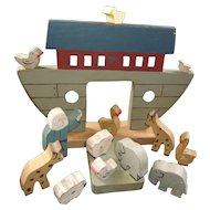 All Wood Noah's Ark