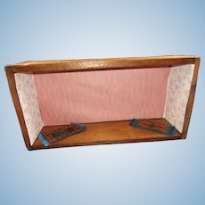Vintage Box with Wallpaper and Rugs