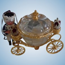 Vintage Cinderella Crystal Coach Carriage from Franklin Mint