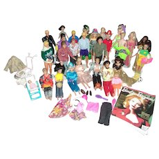 Barbies, Kens and Friends Through the Years