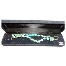 Turqouise Gemstone Sterling Silver Bracelet