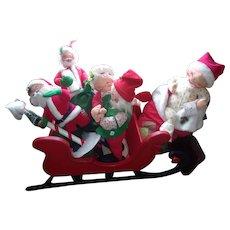 Rare Vintage Christmas Annalee Dolls