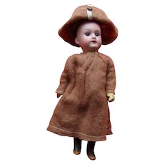 Adorable Sweet Little Armand Marseille 6 1/2 inch Doll
