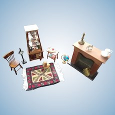 A Great Dollhouse Room Set Ready to Add