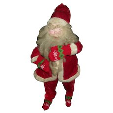 Vintage 23 Inch Santa Clause That Needs Boots