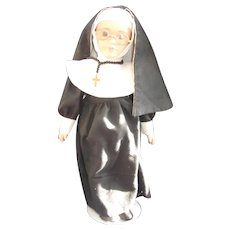 Lovely Bisque Nun Doll