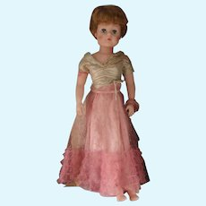 Pretty ( Large )Vintage Rubber Doll