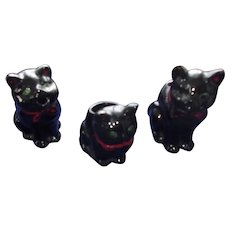 Vintage Black Cats