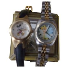 Mickey Mouse and Tinkerbell Watches