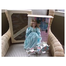 Porcelain Cinderella with Coach and her Slipper ( Limited Edition)