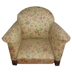 Wonderful Vintage Upholstered Doll Chair