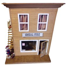 Vintage General Store with All Miniatures Included