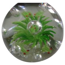 Beautiful and Stunning 3 Inch Vintage Paperweight