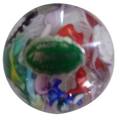 Beautiful Murano Multie Colored paperweight
