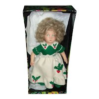 Vintage ( Christina ) Lenci Christmas Doll , All Original in Box and Paperwork