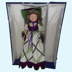 Vintage Lenci ( Christina ) Large Display Doll ( Beautiful Limited Edition with All Original Items )