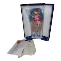 Vintage Beautiful Lenci ( Liviana ) All original Paperwork, Certificate and Blue Silk Lined Trunk