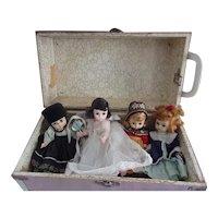 Vintage Madame Alexander Doll with Vintage Case