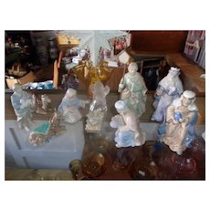 A Beautiful Royal Doulton Nativity Set with Original Box