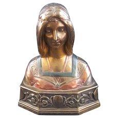 Antique Pomperian Bronze Co. ( The Beautiful Beatrice)
