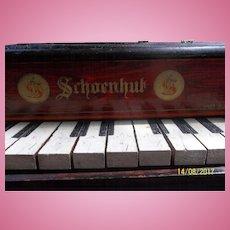 Antique Schoenhut Baby Grand Piano