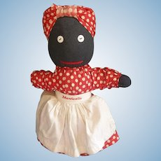This Old Black Cloth Doll