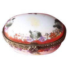 A Beautiful Floral Limoges Box