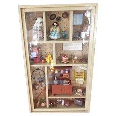 Beautiful Vintage Diorama Doll House