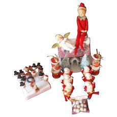 The Sweetest Vintage Ornaments ( All Made In Japan)