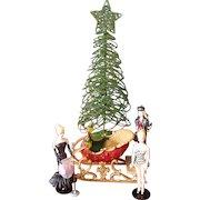 Hallmark Barbies and Sleigh Ornaments