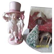 Delightful  Porcelain Figurine ( Little Girl)