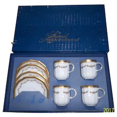 Tirschenreuth Bavaria Germany Set of Cups and Saucers